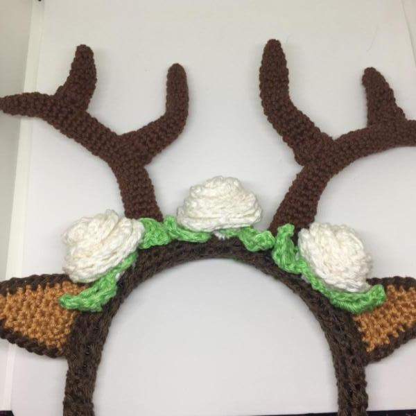 Deer headband Free PDF download